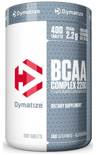 Dymatize Nutrition ВСАА Complex 2200 (400 с)